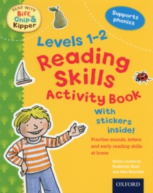Oxford Reading Tree Read with Biff, Chip, and Kipper: Levels 1-2: Reading Skills Activity Book, Paperback