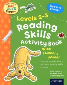 Oxford Reading Tree Read with Biff, Chip, and Kipper: Levels 2-3: Reading Skills Activity Book, Paperback