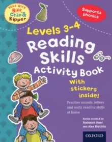 Oxford Reading Tree Read with Biff, Chip, and Kipper: Levels 3-4: Reading Skills Activity Book, Paperback