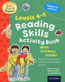 Oxford Reading Tree Read with Biff, Chip, and Kipper: Levels 4-5: Reading Skills Activity Book, Paperback