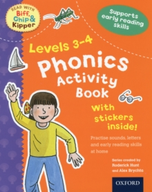 Oxford Reading Tree Read with Biff, Chip, and Kipper: Levels 3-4: Phonics Activity Book, Paperback Book