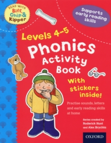 Oxford Reading Tree Read with Biff, Chip, and Kipper: Levels 4-5: Phonics Activity Sticker Book, Paperback