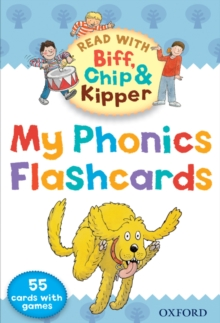 Oxford Reading Tree Read with Biff, Chip, and Kipper: My Phonics Flashcards, Cards