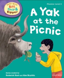 Oxford Reading Tree Read with Biff, Chip and Kipper: Phonics: Level 2: A Yak at the Picnic, Hardback Book