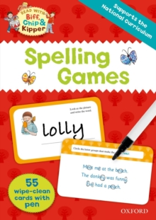 Oxford Reading Tree Read with Biff, Chip and Kipper:: Spelling Games Flashcards, Mixed media product