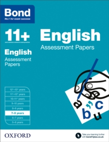 Bond 11+: English: Assessment Papers : 7-8 Years, Paperback
