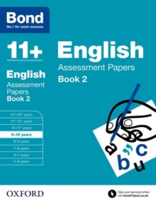 Bond 11+: English: Assessment Papers : 9-10 Years Book 2, Paperback