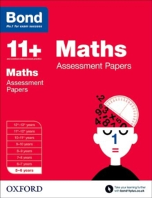 Bond 11+: Maths: Assessment Papers : 5-6 Years, Paperback