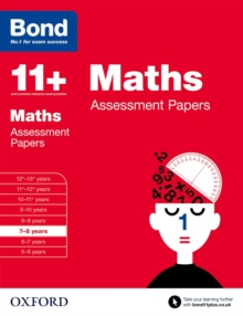 Bond 11+: Maths: Assessment Papers : 7-8 Years, Paperback