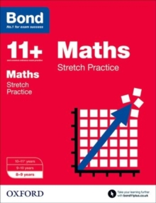 Bond 11+: Maths: Stretch Papers : 8-9 Years, Paperback