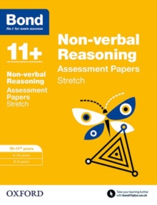 Bond 11+: Non-Verbal Reasoning: Stretch Papers : 10-11 Years, Paperback