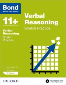Bond 11+: Verbal Reasoning: Stretch Papers : 8-9 Years, Paperback Book