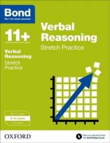 Bond 11+: Verbal Reasoning: Stretch Papers : 9-10 Years, Paperback