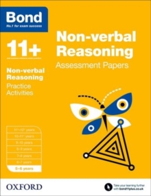 Bond 11+: Non Verbal Reasoning: Assessment Papers : 5-6 Years, Paperback Book
