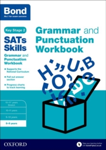 Bond SATs Skills: Grammar and Punctuation Workbook : 8-9 Years 8-9 years, Paperback