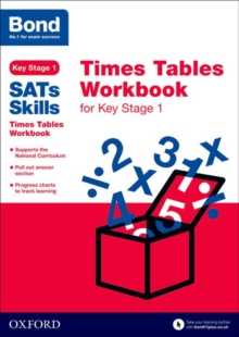 Bond SATs Skills: Times Tables Workbook for Key Stage 1, Paperback
