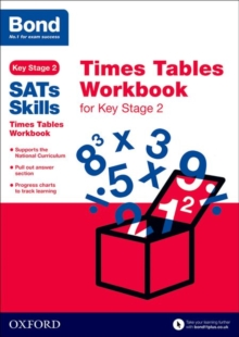 Bond Skills Times Tables Workbook for Key Stage 2, Paperback Book