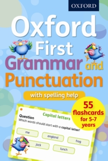Oxford First Grammar and Punctuation Flashcards, Cards