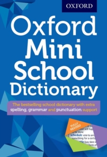 Oxford Mini School Dictionary, Mixed media product Book