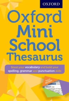 Oxford Mini School Thesaurus, Mixed media product
