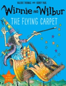 Winnie and Wilbur: The Flying Carpet, Mixed media product Book