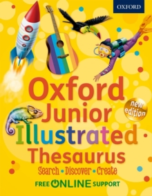 Oxford Junior Illustrated Thesaurus, Hardback