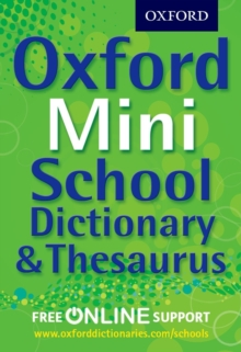 Oxford Mini School Dictionary & Thesaurus, Mixed media product Book