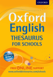 Oxford English Thesaurus for Schools, Mixed media product Book