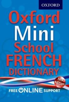 Oxford Mini School French Dictionary, Mixed media product