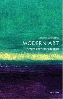 Modern Art: A Very Short Introduction, Paperback Book