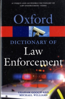 A Dictionary of Law Enforcement, Paperback