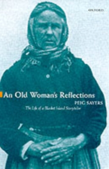 An Old Woman's Reflections, Paperback Book