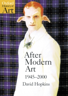 After Modern Art, 1945-2000, Paperback Book