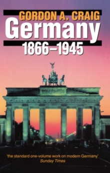 Germany 1866-1945, Paperback Book