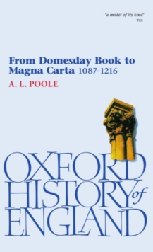 From Domesday Book to Magna Carta, 1087-1216, Paperback Book