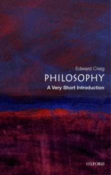 Philosophy: A Very Short Introduction, Paperback