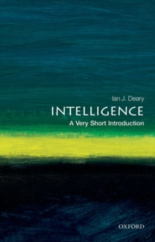 Intelligence: A Very Short Introduction, Paperback