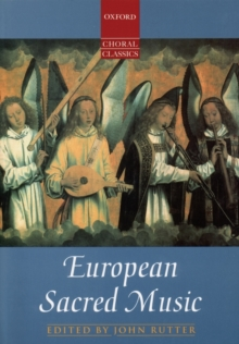 European Sacred Music : Vocal Score, Sheet music