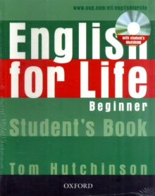 English for Life: Beginner: Student's Book with MultiROM Pack : General English Four-skills Course for Adults, Mixed media product Book