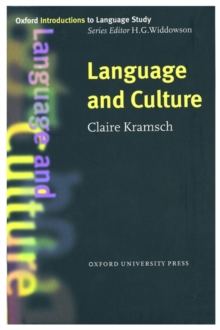 Language and Culture, Paperback