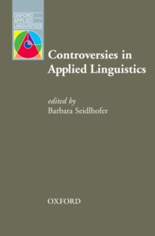 Controversies in Applied Linguistics, Paperback Book