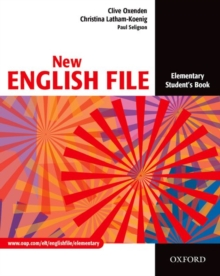 New English File: Elementary: Student's Book : Six-Level General English Course for Adults Student's Book Elementary level, Paperback Book