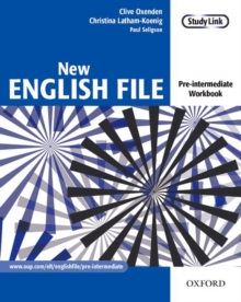 New English File: Pre-Intermediate: Workbook : Workbook Pre-intermediate level, Paperback