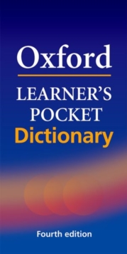 Oxford Learner's Pocket Dictionary : A Pocket-sized Reference to English Vocabulary, Paperback