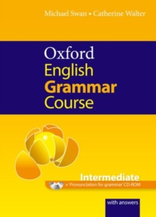 Oxford English Grammar Course: Intermediate: with Answers CD-ROM Pack, Mixed media product