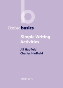 Simple Writing Activities, Paperback Book