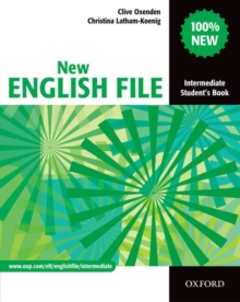 New English File: Intermediate: Student's Book : Six-level General English Course for Adults Student's Book Intermediate level, Paperback