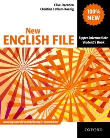 New English File: Upper-intermediate: Student's Book : Six-level General English Course for Adults, Paperback Book