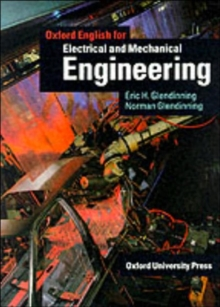 Oxford English for Electrical and Mechanical Engineering Student's Book, Paperback