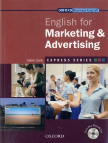 Express Series: English for Marketing and Advertising : A Short, Specialist English Course Student's Book and MultiROM, Mixed media product Book
